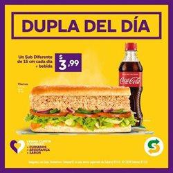 Ofertas de Restaurantes en el catálogo de Subway en Pasaje Canton ( 2 días más )