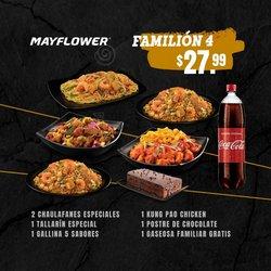 Ofertas de Restaurantes en el catálogo de Mayflower ( 5 días más)