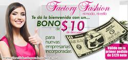 Ofertas de Factory Fashion  en el folleto de Quito