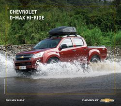 Ofertas de Chevrolet en el catálogo de Chevrolet ( Más de un mes)