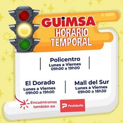Ofertas de Guimsa en el catálogo de Guimsa ( Vencido)