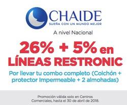 Ofertas de Chaide  en el folleto de Quito