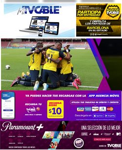 Ofertas de Tecnología y Electrónica en el catálogo de TV Cable en Latacunga ( 15 días más )