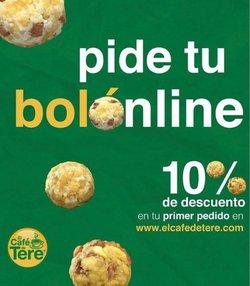 Ofertas de Restaurantes en el catálogo de Cafe de Tere ( 7 días más)