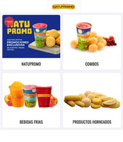 Ofertas de Restaurantes en el catálogo de Naturissimo en Manta ( 15 días más )