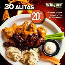 Ofertas de Wingers en el catálogo de Wingers ( 16 días más)
