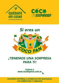 Ofertas de Coco Express en el catálogo de Coco Express ( Más de un mes)