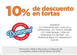 Ofertas de Domrémi  en el folleto de Guayaquil
