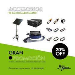 Ofertas de Almacenes en el catálogo de Pro Sonido en Quito ( 4 días más )