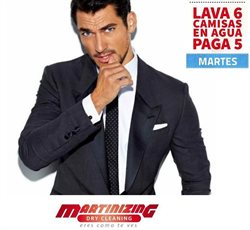 Ofertas de Martinizing Dry Cleaning  en el folleto de Quito