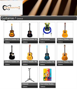 Catálogo Cervantes Music Store ( 6 días más )