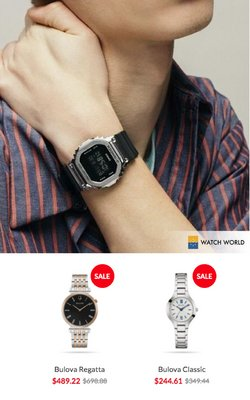 Ofertas de Ropa, Zapatos y Complementos en el catálogo de Watch World ( 2 días más)