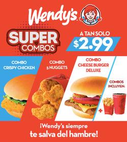 Ofertas de Wendys  en el folleto de Guayaquil