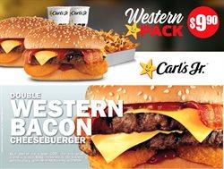 Ofertas de Restaurantes en el catálogo de Carl's Jr. en Manta ( 4 días más )