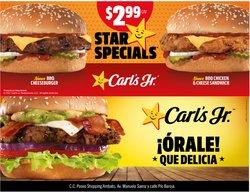 Ofertas de Carl's Jr. en el catálogo de Carl's Jr. ( 10 días más)