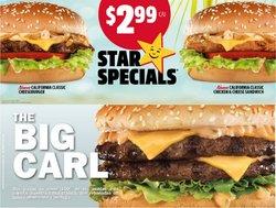 Ofertas de Restaurantes en el catálogo de Carl's Jr. ( Vence mañana)