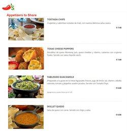 Ofertas de Restaurantes en el catálogo de Chili's en Pasaje Canton ( 2 días más )
