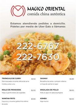 Ofertas de Restaurantes en el catálogo de Mágico Oriental ( 13 días más)