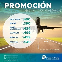 Ofertas de Delgado Travel  en el folleto de Quito