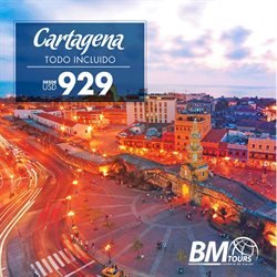Ofertas de BM Tours  en el folleto de Quito