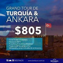 Ofertas de Viajes y Ocio en el catálogo de BM Tours ( 16 días más)
