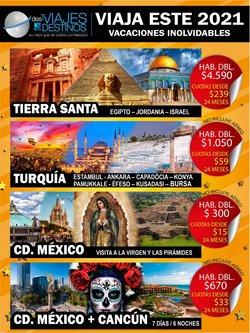 Ofertas de Viajes y Ocio en el catálogo de Viajes y Destinos ( Más de un mes)