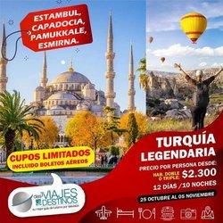 Ofertas de Viajes y Ocio en el catálogo de Viajes y Destinos ( 5 días más)