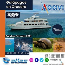 Ofertas de Viajes y Ocio en el catálogo de Atlas Viajes en Quito ( 23 días más )