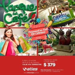 Ofertas de Atlas Viajes  en el folleto de Quito