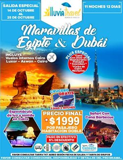 Ofertas de Lluvia Travel  en el folleto de Quito