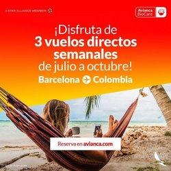 Ofertas de Viajes y Ocio en el catálogo de Avianca ( 2 días publicado)