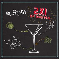 Ofertas de TGI Fridays  en el folleto de Quito