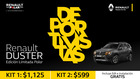 Cupón Renault en Duran ( 14 días más )