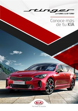 Catálogo Kia ( Más de un mes )