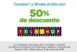 Ofertas de Teleshop  en el folleto de Guayaquil