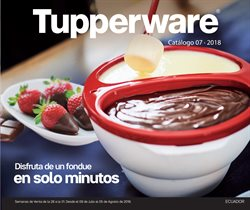 Ofertas de Tupperware  en el folleto de Quito