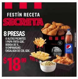 Ofertas de Restaurantes en el catálogo de KFC en Gualaceo ( 6 días más )