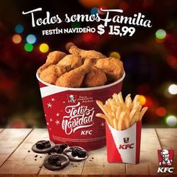 Ofertas de KFC  en el folleto de Quito