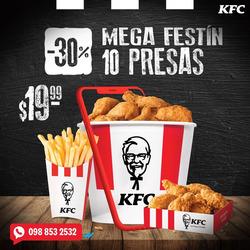 Cupón KFC en Manta ( 15 días más )