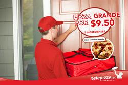 Ofertas de Telepizza  en el folleto de Quito