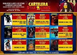 Ofertas de Viajes y Ocio en el catálogo de Star Cines ( Vence hoy)