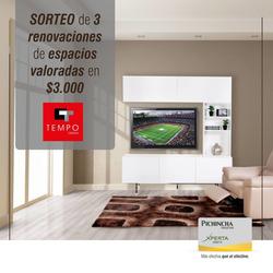 Ofertas de Tempo Desing  en el folleto de Guayaquil
