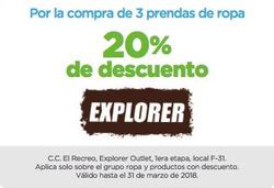 Ofertas de Explorer Ecuador  en el folleto de Quito
