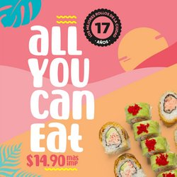 Ofertas de Restaurantes en el catálogo de Kobe Sushi Express ( Vence hoy)