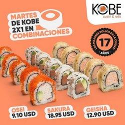 Catálogo Kobe Sushi Express ( Publicado hoy)