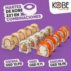 Ofertas de Restaurantes en el catálogo de Kobe Sushi Express ( Vence mañana)