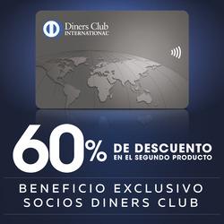 Cupón Diners Club en Samborondón ( 2 días más )