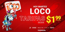 Cupón Cinemark en Ibarra ( 11 días más )