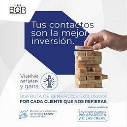 Ofertas de Bancos en el catálogo de BGR ( Más de un mes)