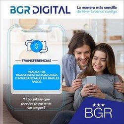 Ofertas de Bancos en el catálogo de BGR ( 3 días más)